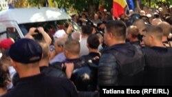 La protestele opoziției de la 17 septembrie