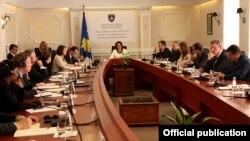 Fjalimi i Presidentes Atifete Jahjaga në takimin përmbyllës të Këshillit Kombëtar Kundër Korrupsionit