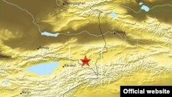 Эпицентр землетрясения, зарегистрированного 28 января в 22.38 по времени Алматы, находился на границе Казахстана с Кыргызстаном.
