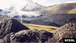 Золоторудное месторождение Кумтор, 8 ноября 2008 года.
