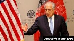 FILE: U.S. Special Representative for Afghanistan Reconciliation Zalmay Khalilzad