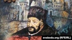 Партрэт Стэфана Баторыя мастака Алеся Сурава