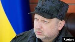 В.д. претседателот на Украина Олександр Турчинов.
