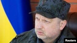 Исполняющий обязанности Президента Украины Александр Турчинов