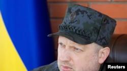 Вршителот на должноста претседател на Украина Олександер Турчинов.