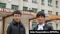 Киргизские учащиеся аграрного колледжа в Ржеве