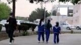 Участники, организуемых государством спортивных мероприятий, должны быть в одинаковых спортивных костюмах. Ашхабад, апрель, 2021.