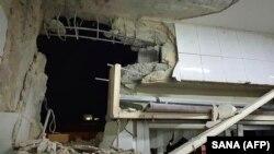 اصابت راکت بر یک منزل در سوریه