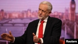 Lideri opozitar në Britani, Jeremy Corbyn.