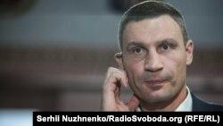 Київський міський голова Віталій Кличко