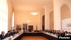 Armenia -- Armenian and EU officials launch talks on an association agreement, 19July 2010.