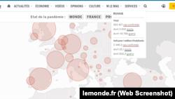 Le Monde опублікувала карту c російським Кримом
