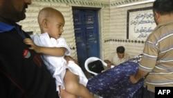 Во время ритуала обрезания в Ираке