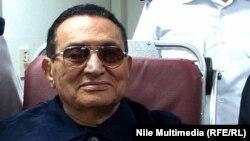 Egypt, Cairo, Former Egyptian President Hosni Mubarak