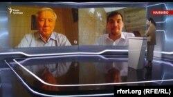 Олексій Гончарук та Юрій Єхануров в ефірі програми Свобода Live