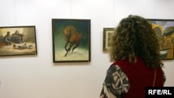 An exhibition in Arbil for a number of artists and the cooperation