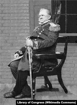 Генерал Скотт в 1861 году