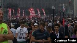 Demonstranti u Istanbulu, 2. jun 2013.