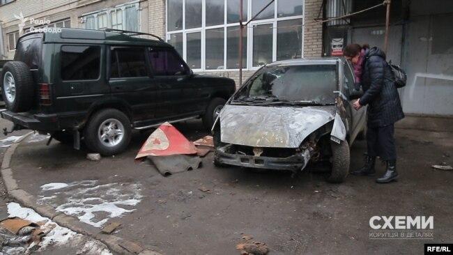 Підпал автівки львівської кореспондентки Радіо Свобода Галини Терещук стався у ніч на 30 січня
