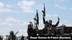 Бойцы армии Хафтара.