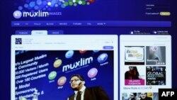تصویر محمد فطاطری، مدیرعامل شرکت رایانهای «مکسلیم پال» در وبسایت این شرکت. عکس از (AFP)