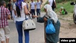 Люли в Таджикистане в основном занимаются попрошайничеством