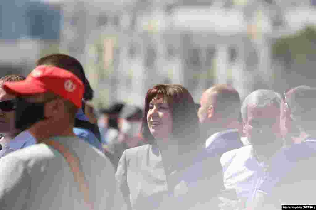 Голова Ради Республіки Наталія Качанова