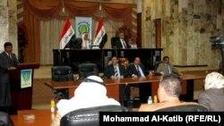 جلسة مجلس محافظة نينوى في 11 نيسان2012