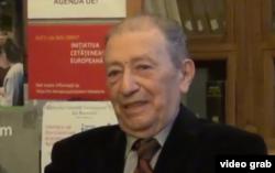 Prof. univ. Paul Cornea la aniversarea de 80 de ani