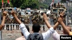 حومه قاهره در روز دوشنبه