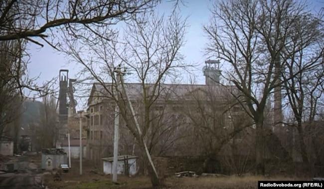 Одна из шахт в Енакиево на неподконтрольной Киеву территории Донбасса