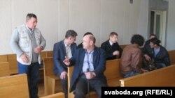 У залі Лідзкага раённага суду