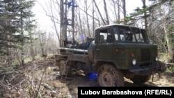 Изыскательские работы на склонах сахалинских гор