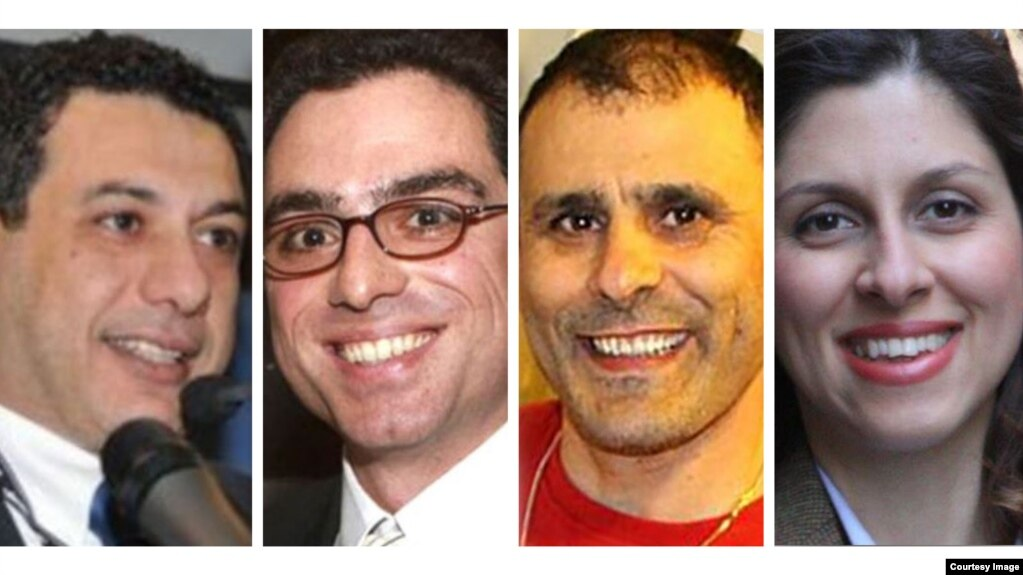 A number of dual citizens currently imprisoned in Iran on questionable charges.