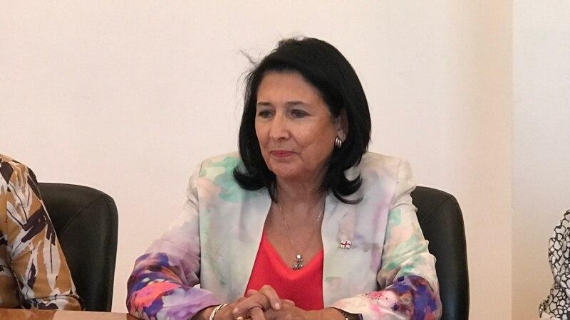 Վրաստանի նախագահը հայտնվել է նոր սկանդալի կենտրոնում