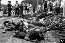 Nu se știe câți protestatari au fost masacrați pe 3 și 4 iunie 1989. Guvernul chinez ascunde și în ziua de astăzi cifrele.