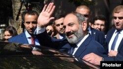 Премьер-министр Армении Никол Пашинян, Ереван, 8 октября 2018 г.