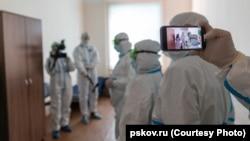 Михаил Ведерников в больнице с пресс-службой