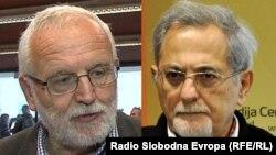 Jože Mencinger (lijevo) i Miroslav Ružica (desno)