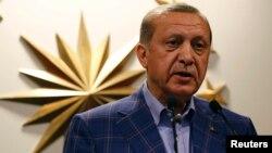 Режеп Ердоған, Түркия президенті.