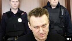 Алексей Навальный в суде (Москва, 30 марта 2017 г.)