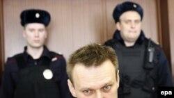 Aleksej Navalni u sudnici