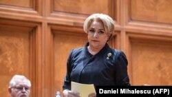 Primul ministru Viorica Vasilica Dancila