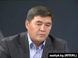"Камчыбек Ташиев, лидер партии ""Ата Журт"", 14 октября 2010 года."