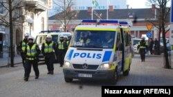 الشرطة السويدية تحيط تظاهرة سابقة للاجئين عراقيين