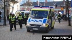 Илустрација: Полиција во Шведска.
