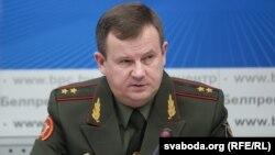 Міністар абароны Беларусі Андрэй Раўкоў