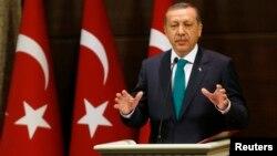 Рәҗәп Таййип Эрдоган 30 сентябрьдә демократик яңарышлар игълан итә