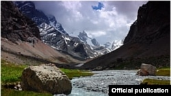 Зарафшанская долина Таджикистана.