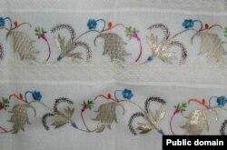 Крымскотатарская вышивка техники татар ишлиме